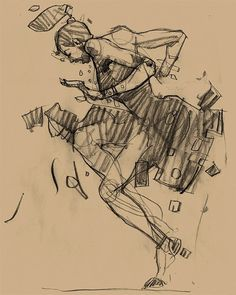 Harlem Swing Dance Studies by Martin French #inspiration #illustration #drawing