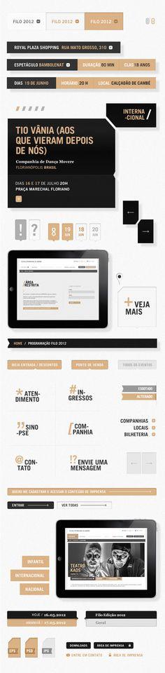 Filo Festival 2012 | Londrina #app #web #mobile