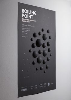 Boiling Point #boiling #black #craft #point #poster #circle #3d