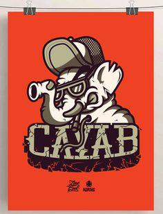 SHOW-BILL en Behance #vector #elephant #illustration #behance #art #poster #cayab