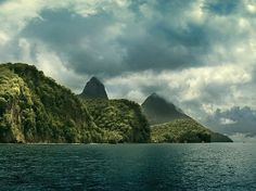 Your Caribbean Photos -- National Geographic #clouds #nature #water #lucia