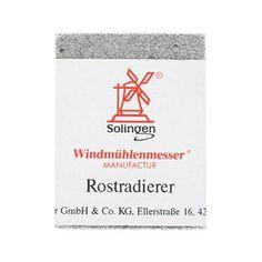 Windmuehlenmesser Rust Eraser