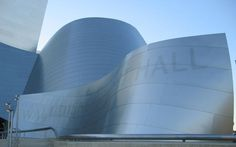 Walt Disney Concert Hall #architecture #typography