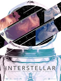 Poster by Simon Delart #inspiration #design #print #poster #creative #movie #film #interstellar #unique #space