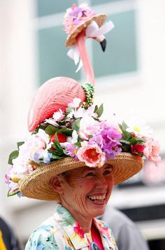 30 Cool Kentucky Derby Hats #festival #clothes #costume #hat #fashion