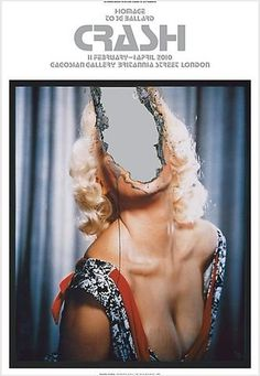 Shop Crash Poster (Douglas Gordon: Self Portrait of You + Me (Jayne Mansfield), 2007) Gagosian Gallery #photo #tear #portrait #manipulation #vintage #poster #face #collage #50s