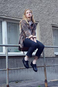 Elise_Ballegeer_Lookbook_Summer_2013_Location_051 #fashion #photography #woman