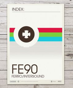 63026f3175b67fe03ce4131fd84f85b5 #cassette #stevens #neil #print #illustration #poster #type #colour