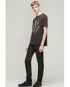 Rag & Bone | Black Dagger Tee for Men | Lyst
