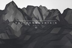 Random Graphics - Lukas Haider - Graphic Design, Photography & Cinematography. #2011 #polygon #mountain #cinema