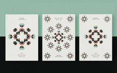 Micha Pelz Coiffure Identity Materials #poster #design #geometry #pattern