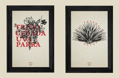 TRES QUINCE on Behance #red #print #poster #overlay #flowers #typography