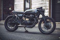 Honda CB750 Phantom by Clockwork Motorcycles #Honda #CB750 #Phantom #ClockworkMotorcycles #caferacer #1975
