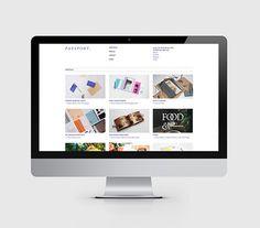 Passport Branding Update on Behance #branding #portfolio #design #identity #passport #layout #web