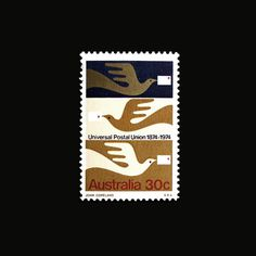 Item 230: Universal Postal Union stamp #stamp #illustration