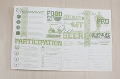 Executive Women International Golf Tournament Brochure #retro #tournament #food #typographic #sports #vintage #registration #green #beer #script #flyer #design #scholarship #graphics #type #serif #recruit #pamphlet #natural #sponsor #typography #athletic #golf #graphic #athletics #nature #register #slab #sport #brochure