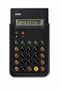 Braun ET66 Calculator #calculator #braun