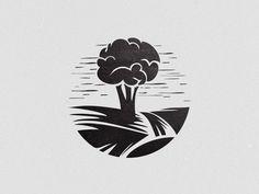Cuongarden #mark #logotype #vietnam #branding #tree #design #black #brand #identity #vintage #symbol #garden #logo #bratus