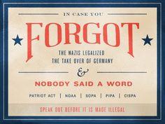 Dribbble - In Case You Forgot... by Benjamin Friesen
