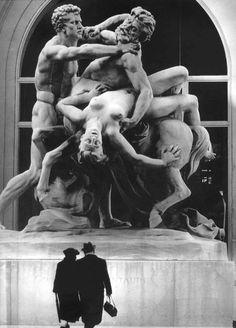 Le Combat du Centaure, 1971 © Robert Doisneau