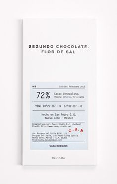 SAVVY STUDIO | Casa Bosques Chocolates #graphic design #packaging #chocolate