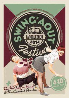 #poster #vintage #retro #lindyhop #micheletenaglia