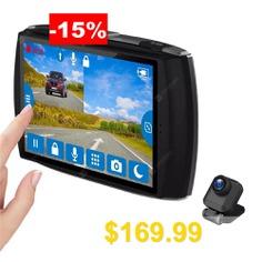 Z-EDGE #T4 #Dual #Lens #Dash #Cam #4.0 #inch #Touch #Screen #FHD #1080P #Car #DVR #Front #and #Rear #Cameras