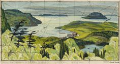 Artwork Page: Sibley Park, View C2 - Canadian Paintings in the Thirties #painting #of #group #seven