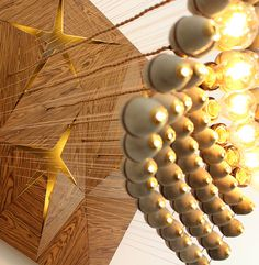 Sun Green Chandelier by Mariam Ayvazyan - #lamp, #design, #lighting