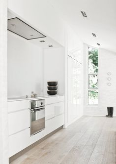 Cooking alcove. Fredensborg House by Norm Architects. © Jonas Bjerre-Poulsen. #scandinavian #kitchen #alcove