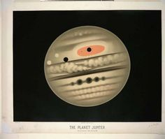 The Old, Awesome Space Drawings of E.L. Trouvelot - Rebecca J. Rosen - Technology - The Atlantic #drawings #planets #vintage