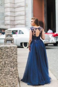 rent wedding dress blue unique
