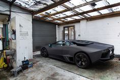 Lamborghini where you'd least expect it.