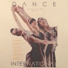 """DCI - Dance Career International"" poster #ad #design #graphic #poster"