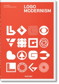 logo modernism book cover
