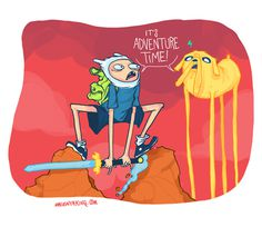 It's Adventure Time #adventure #magentaking #time #fanart