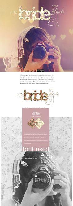 The Bride Guide |Logo Branding | Concept #logo #concept #presentation #branding
