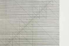 "detail: untitled 2011_04_01, lines ""y"" 128 diagonals 