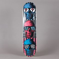 Flatspot STACKS SKULLS DECK 7.625""