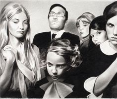 Mercedes Helnwein | PICDIT #drawing #art