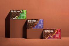 Balance Chocolate Bar Packaging Design by Javier Garcia