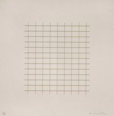 On A Clear Day, 1973, Agnes Martin