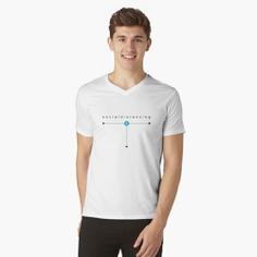 Social Distancing V-Neck T-Shirt