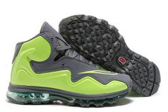 air flyposite anthracite and brillant green mens