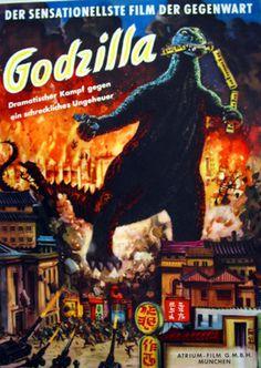 vintage #godzilla poster