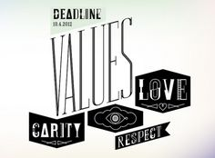 Call for Entries: Values #call #for #entries