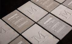 Beton | Murmure – Agence Créative | Agence de communication àCaen #cards #concrete #business