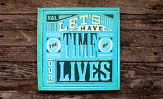 The Time of Our Lives Kyle White / Designer Based in New York City