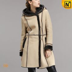 Ladies Shearling Coats CW640251 #ladies #shearling #coats