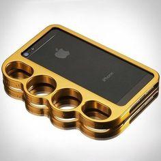 Knucklecase for iPhone 5 #gadget
